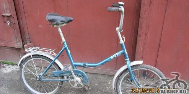 "Велосипед ""Аист"" со складной рамой"