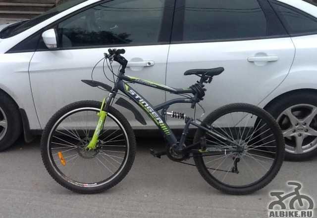 Велосипед Стингер 18 ск зеленый