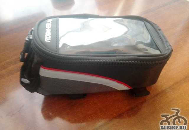 Велосипедная сумка Roswheel на раму (Новая)