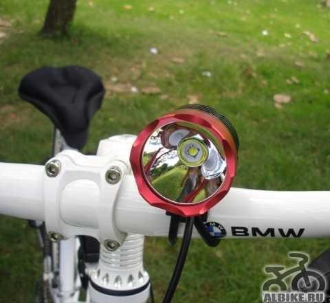 Мощная велофара Cree XML-T6