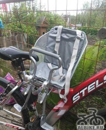 Детское велокресло, новое