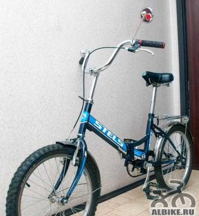 Складной велосипед Стелс Пилот 420