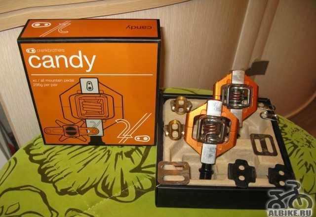 Контактные педали Crank Brothers Candy 2 (2014)