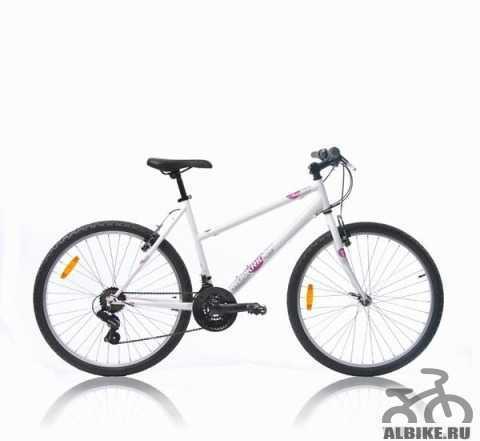 Велосипед btwin мтв rockrider жен