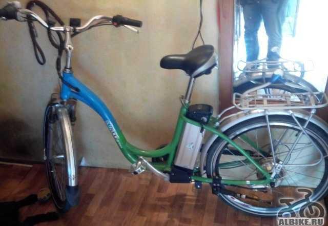 Электровелосипед Электро
