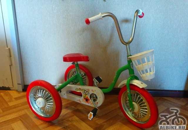 Sparite трехколесный велосипед детский