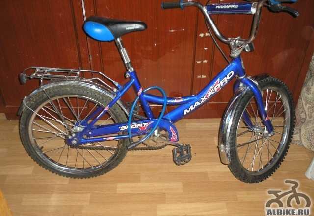 Велосипед 7-12 лет, почти новый