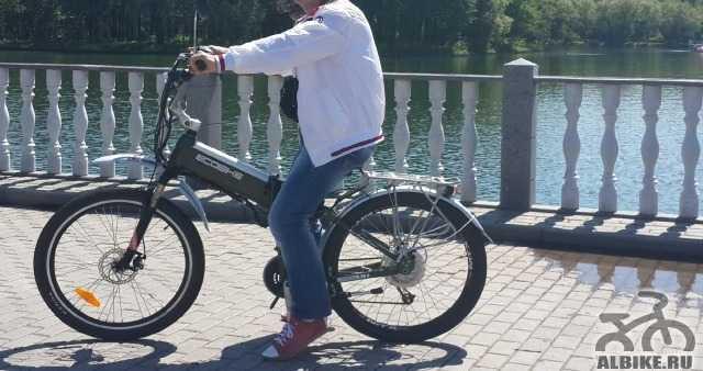 Ecobike Хаммер x7 тюнинг электровелосипед