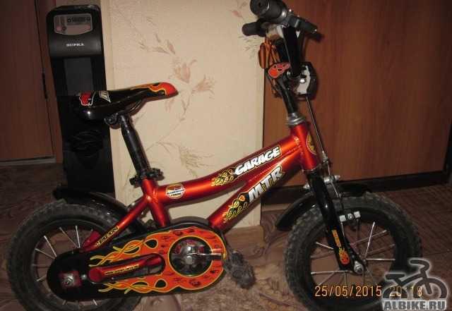 """Велосипед детский MTR 12"""" для мальчика"""