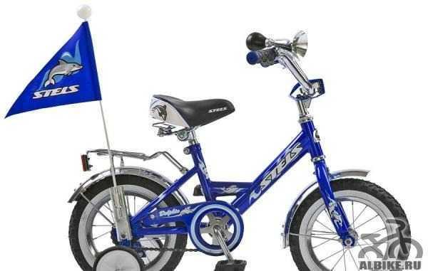Велосипед стелс детский