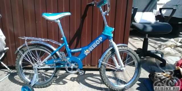 Почти новый велосипед Юниор