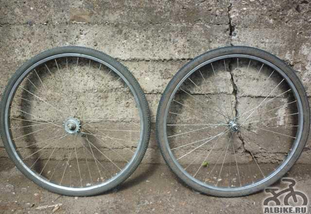 Колесо переднее, колесо заднее