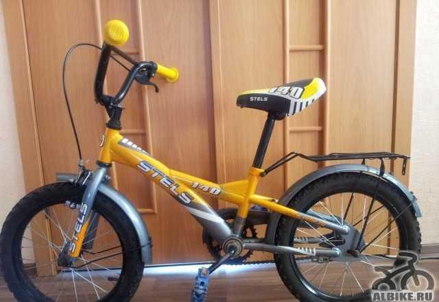 Детский велосипед стелс Пилот 140
