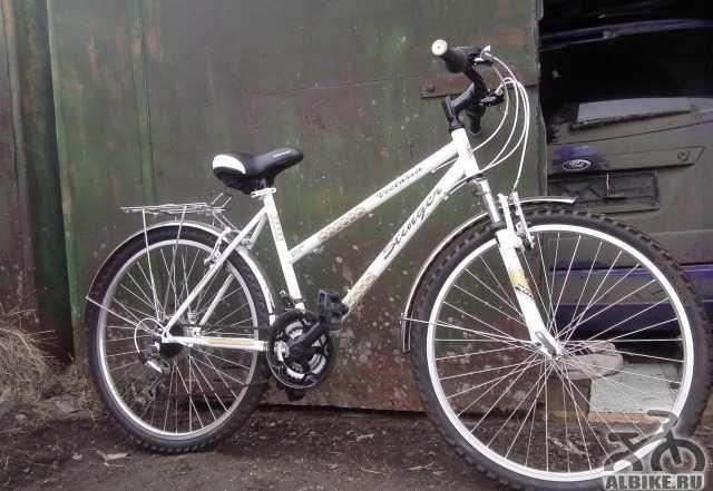 Велосипед Стингер Виктория, белый