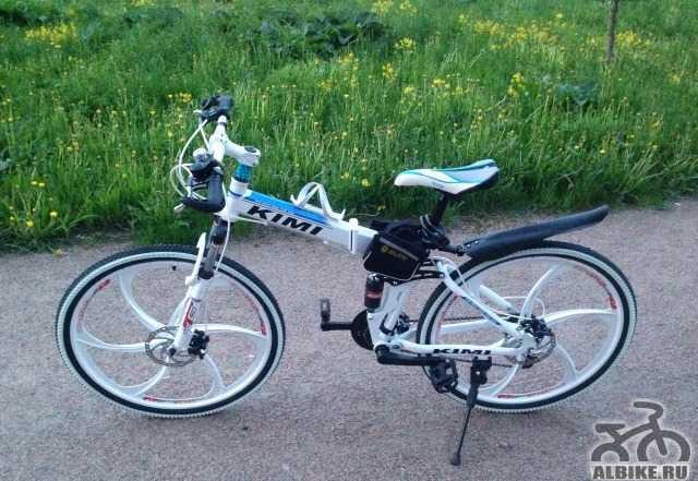 Горный складной вело, новый