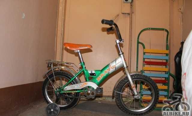 Детский велосипед браво