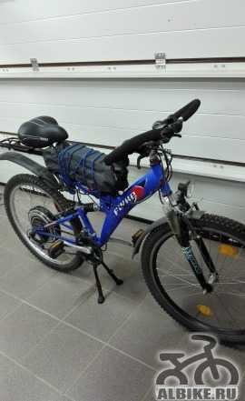 Электровелосипед - двухподвес - 48 км/час