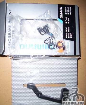 Адаптер дискового тормоза Shimano, SM-MA-R160P/S