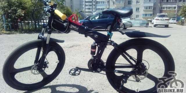 Продам новый складной велосипед БМВ