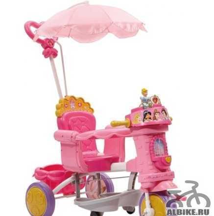 Велосипед geoby Disney Принцесса