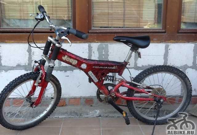 Детский горный велосипед джип