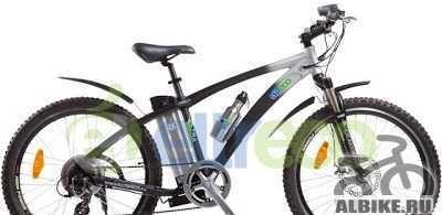 Велогибрид электровелосипед Электро Ультра GL 500W