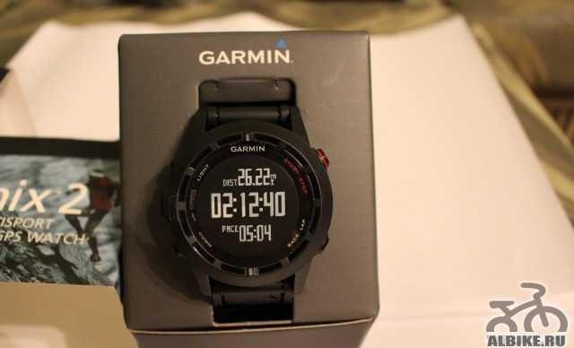 Новые Garmin Феникс 2 - часы с GPS-навигатором