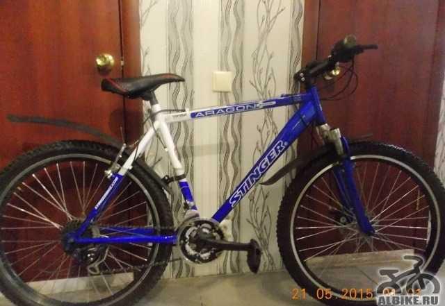Велосипед стингер aragon S250D