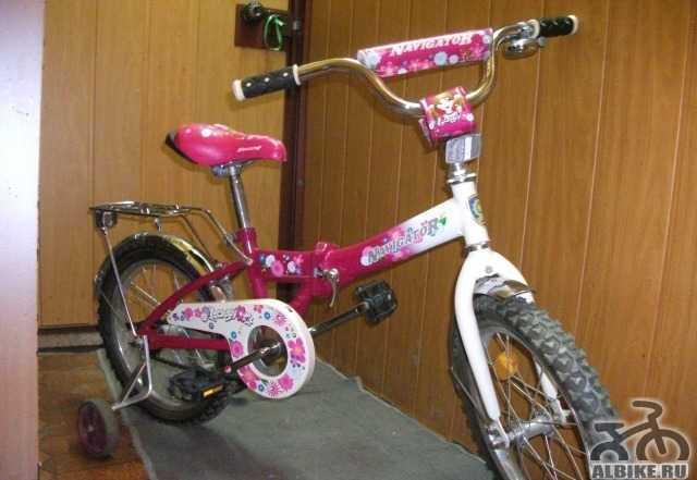 Продам велосипед для девочки 5-7 лет