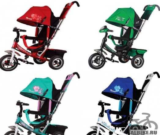 Велосипеды 3х колесные с функцией коляски