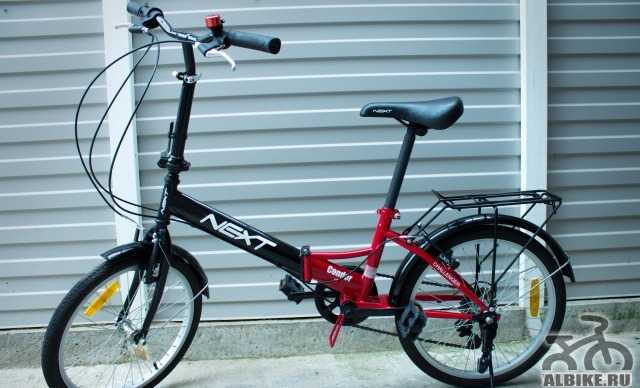 Дорожный складной велосипед
