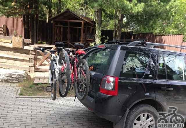 Велокрепление для перевозки велосипедов Thule