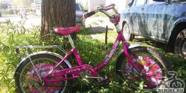 Королевский велосипед для маленькой принцессы