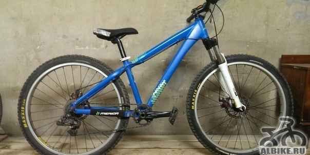 Велосипед на раме Merida UMF Hardy 6 (2013)