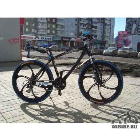 Велосипеды БМВ с литыми дисками