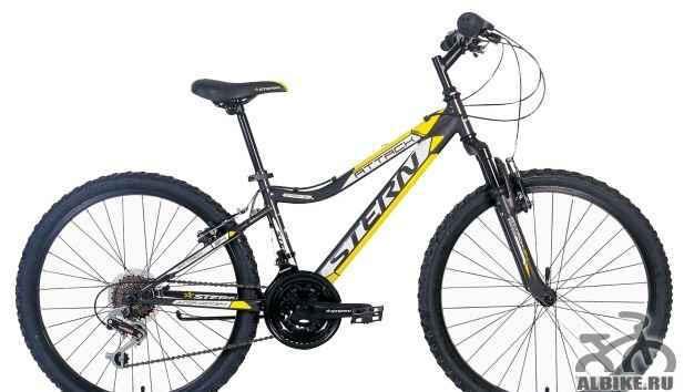 Велосипед подростковый. горный. stern attack 24