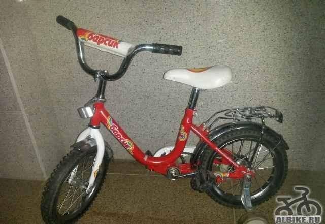 """Детский велосипед """"Барсик"""" 16"""""""