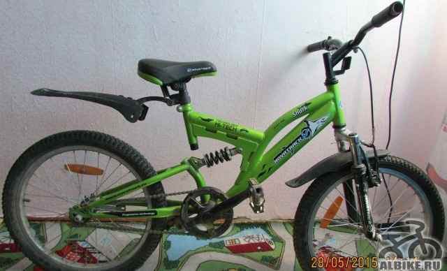 Современный двухколёсный детский велосипед