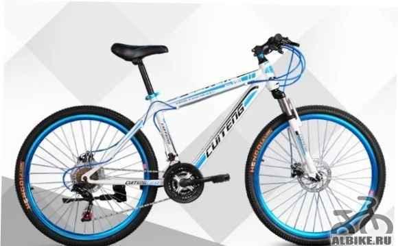 Велосипед cuiteng прочная рама комплектациябогатая