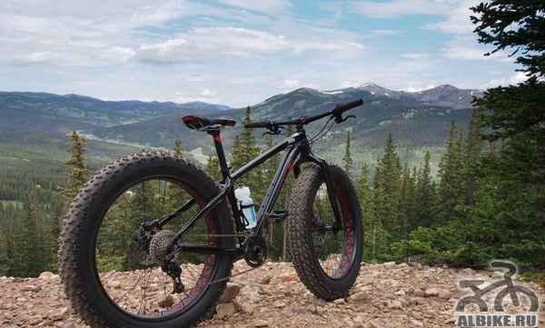 Горный велосипед с электродвигателем