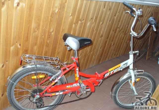 Велосипед подростковый складной стелс Пилот 450