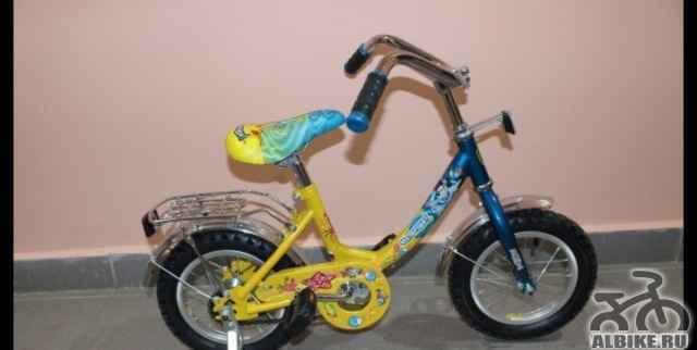 Новый детский велосипед Навигатор 12