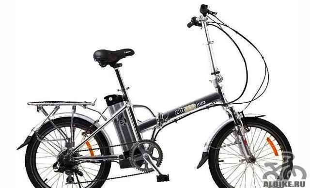 Велогибрид (электровелосипед) Электро Джаз