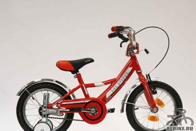 Велосипед детский Альпина Байк 14. новый