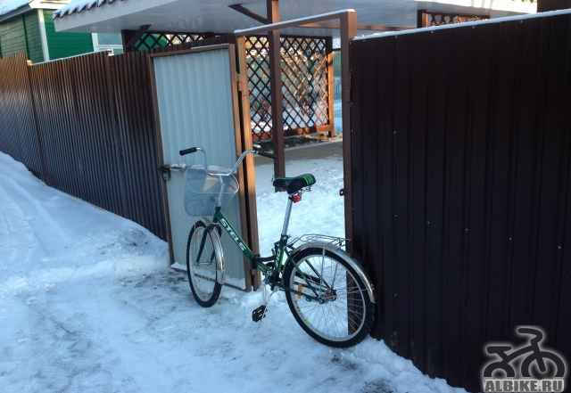Велосипед складной Стелс Пилот 710 24