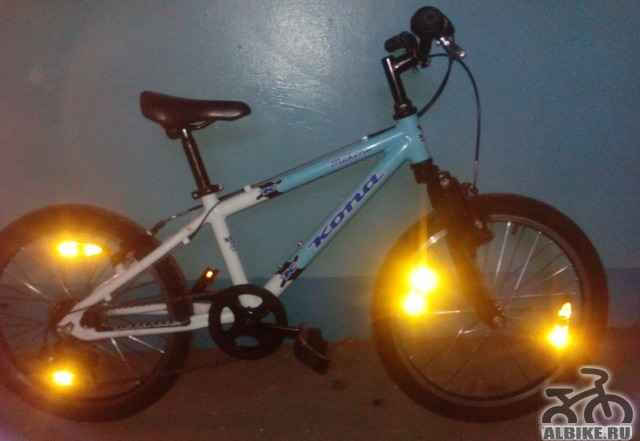 Велосипед кона макена