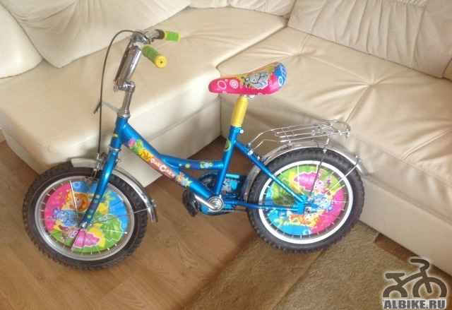 Велосипед детский. Почти новый. Красивый