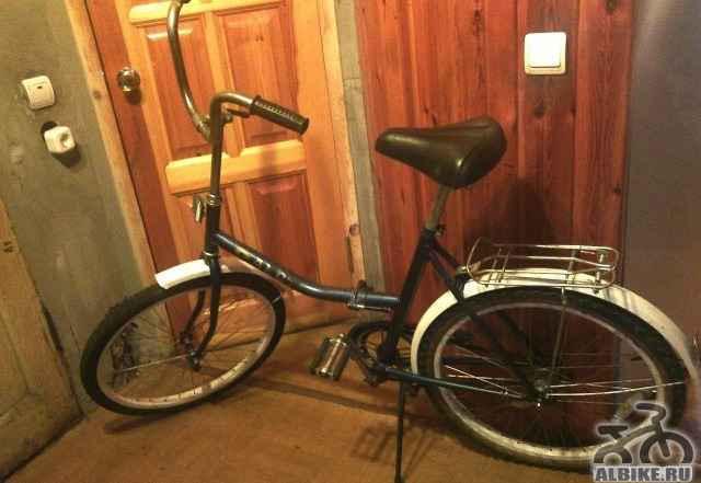 """Велосипед складной взрослый, колёса 24"""""""