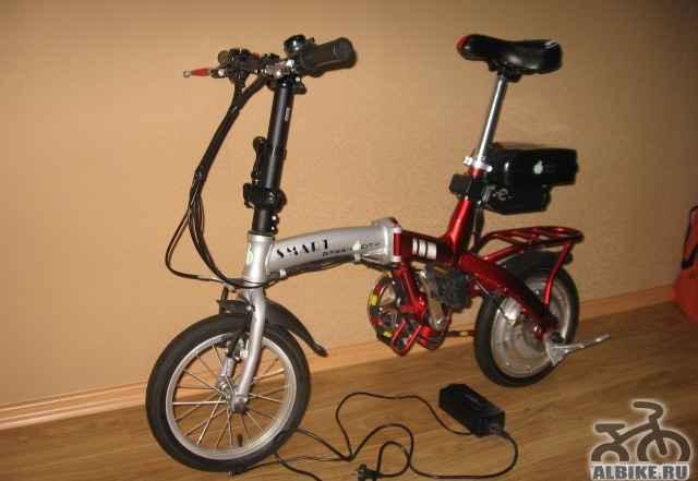 Электровелосипед (гибридный) смарт