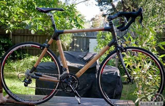 Шоссейный бамбуковый велосипед
